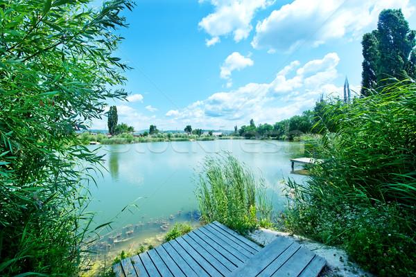 lake Stock photo © tycoon