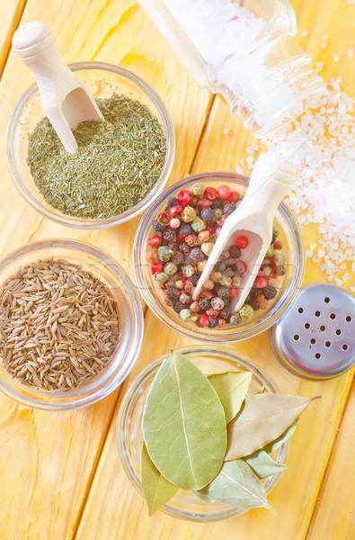Aroma Spice alimentare natura grano pepe Foto d'archivio © tycoon
