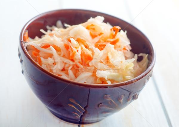 サラダ キャベツ ニンジン 食品 食べる 野菜 ストックフォト © tycoon