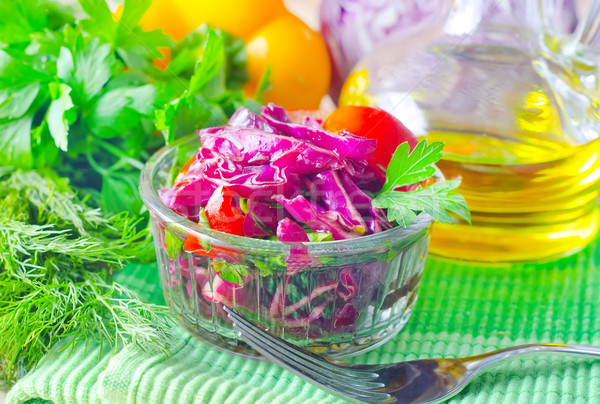 salad with cabbage Stock photo © tycoon