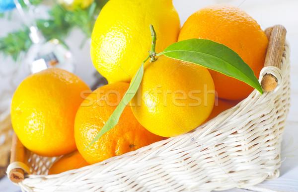 mandarin Stock photo © tycoon