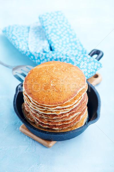 Stok fotoğraf: Krep · tatlı · plaka · tablo · gıda · arka · plan