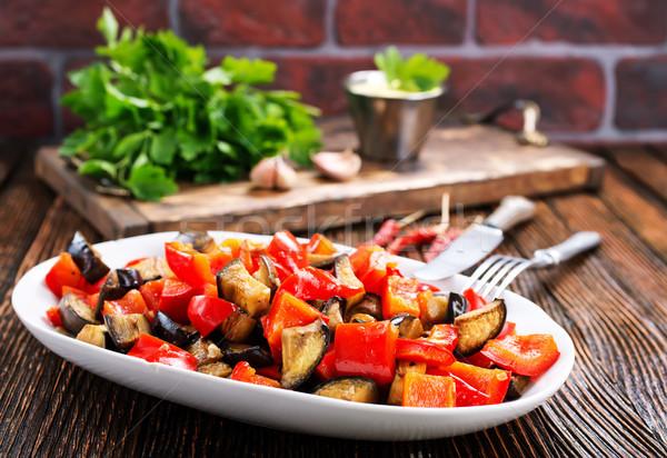 Melanzane altro verdura piatto alimentare Foto d'archivio © tycoon