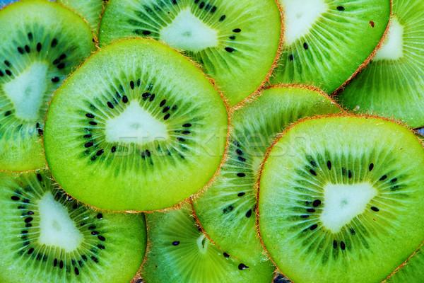 Taze kivi doğa meyve yeşil Stok fotoğraf © tycoon
