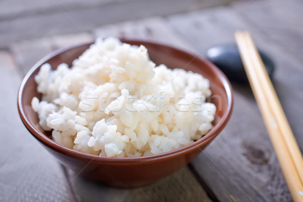 boiled rice Stock photo © tycoon