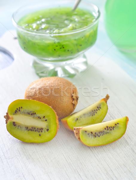 kiwi jam Stock photo © tycoon