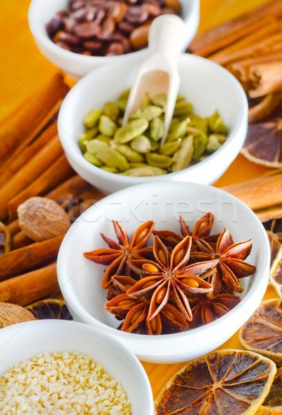 Aroma Spice alimentare natura star vintage Foto d'archivio © tycoon