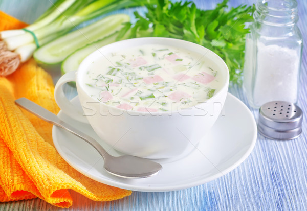 cold soup Stock photo © tycoon