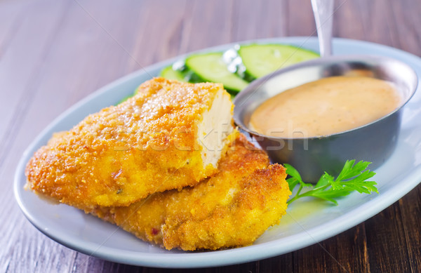 schnitzel Stock photo © tycoon