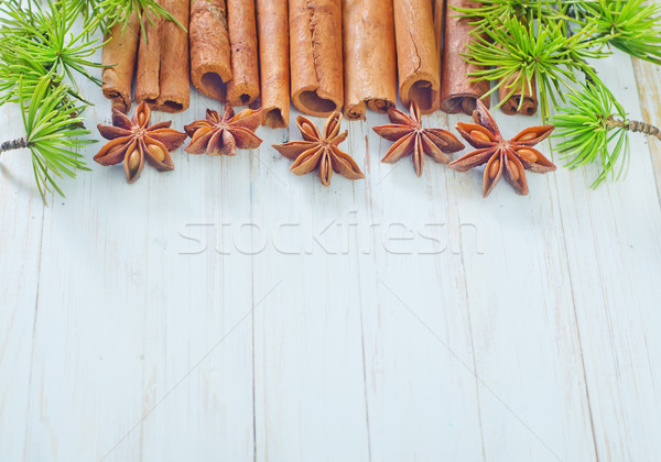 cinnamon and anise Stock photo © tycoon