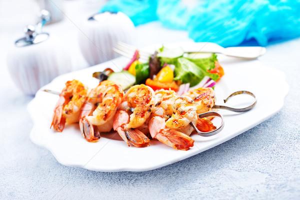 Salade voorraad foto voedsel tijger Stockfoto © tycoon