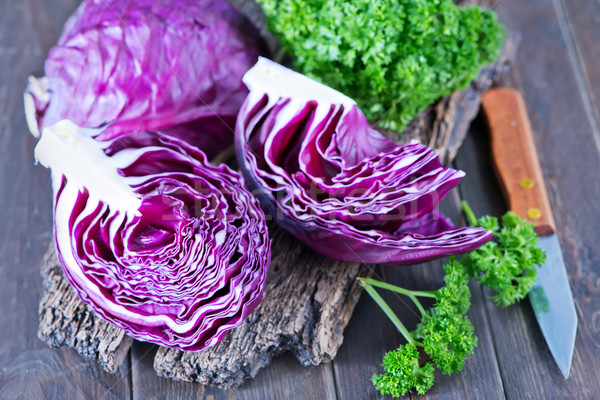 blue cabbage Stock photo © tycoon