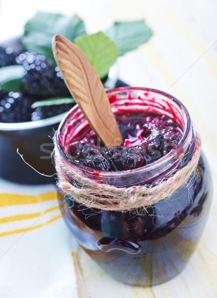 BlackBerry Jam фрукты лет жизни свежие Сток-фото © tycoon