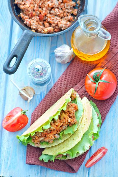 fresh taco Stock photo © tycoon