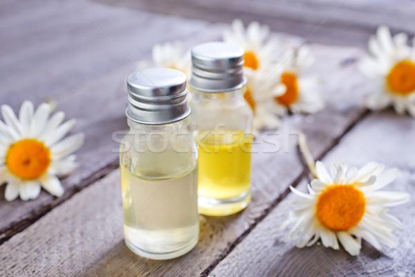 Aroma olaj orvosi pihen fürdő fürdőkád Stock fotó © tycoon