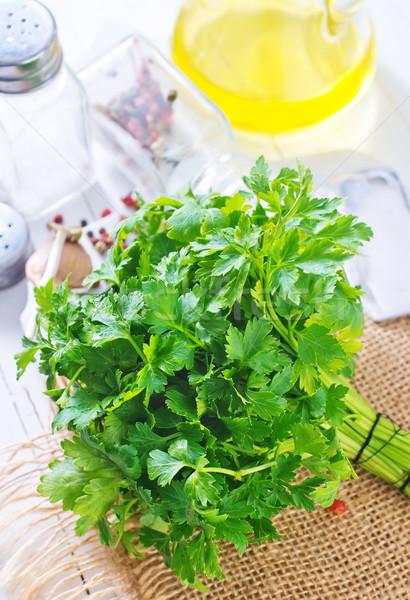 parsley Stock photo © tycoon