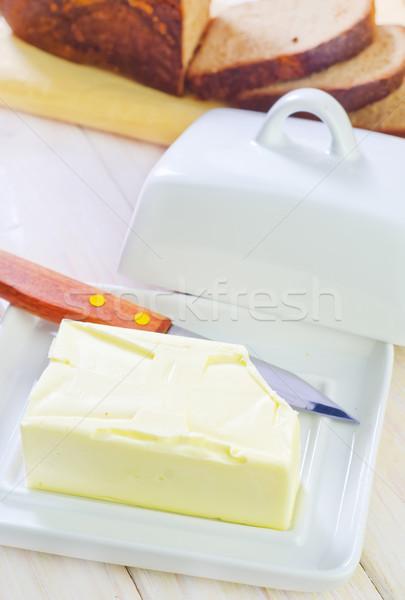 Manteiga pão compras verde queijo trigo Foto stock © tycoon