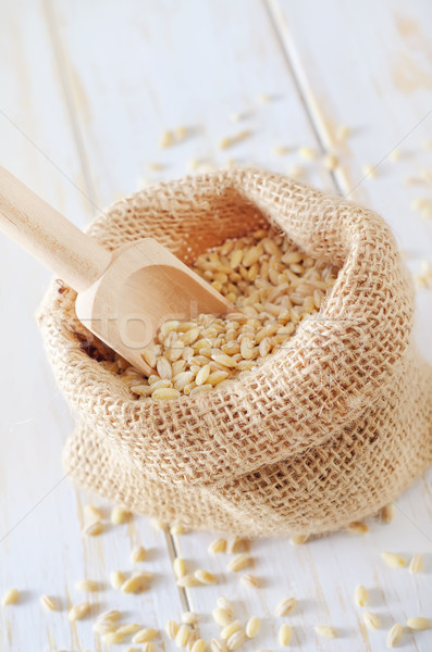 pearl barley Stock photo © tycoon