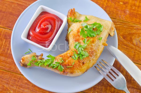 chicken leg Stock photo © tycoon