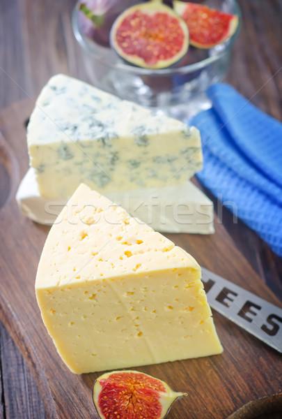 сыра синий белый совета пикника свежие Сток-фото © tycoon