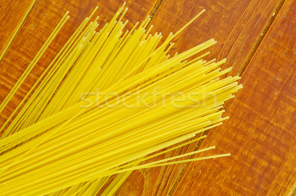 raw spaghetti Stock photo © tycoon