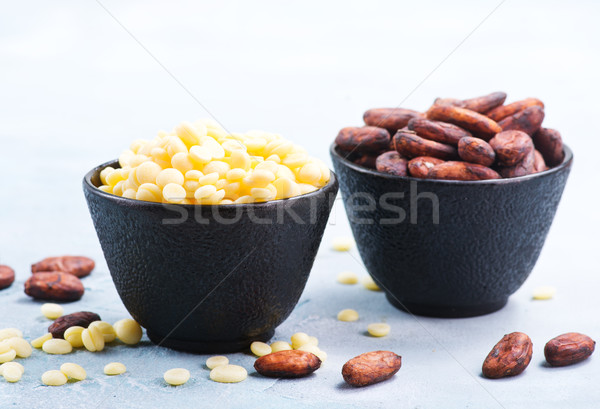 cocoa butter and beans Stock photo © tycoon