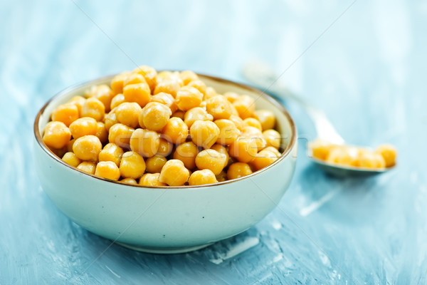boiled chickpeas Stock photo © tycoon