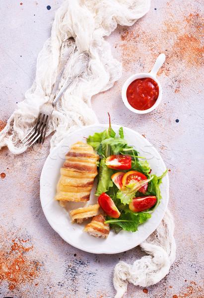 chicken roll  Stock photo © tycoon