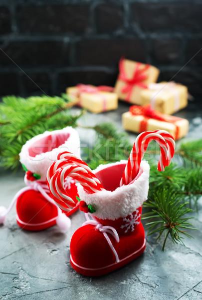 クリスマス 表 在庫 写真 緑 ストックフォト © tycoon