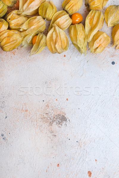 Physalis fruit Stock photo © tycoon
