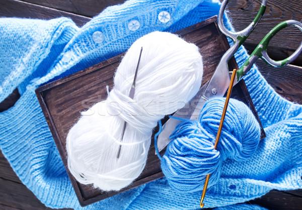 knitting Stock photo © tycoon