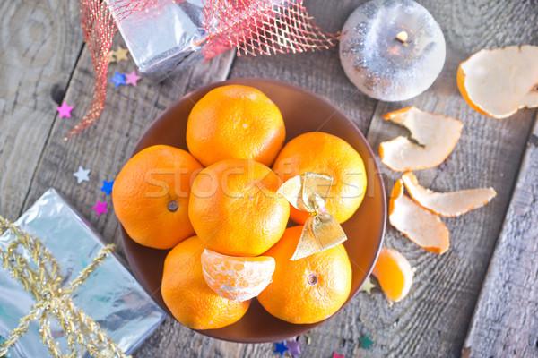 Prato tabela natureza fruto jardim fundo Foto stock © tycoon