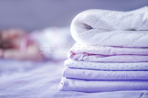 bed-linen Stock photo © tycoon