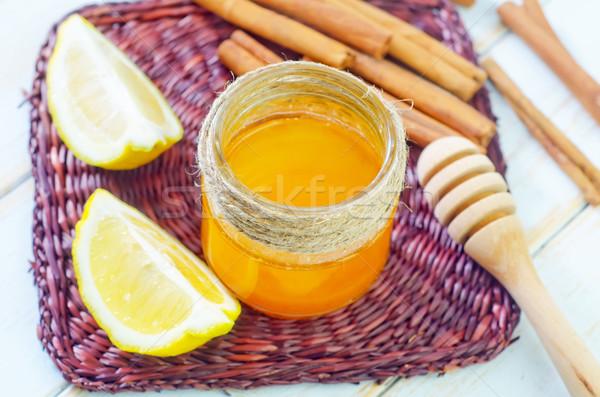 Foto d'archivio: Limone · medicina · colore · dessert · cuoco · miele