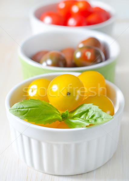 Cor tomates natureza saúde verão cereja Foto stock © tycoon