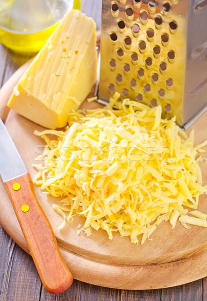 Queso alimentos cocina grasa comer bordo Foto stock © tycoon