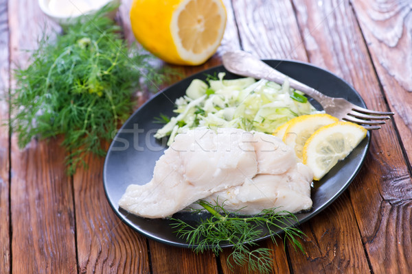 fish fillet Stock photo © tycoon