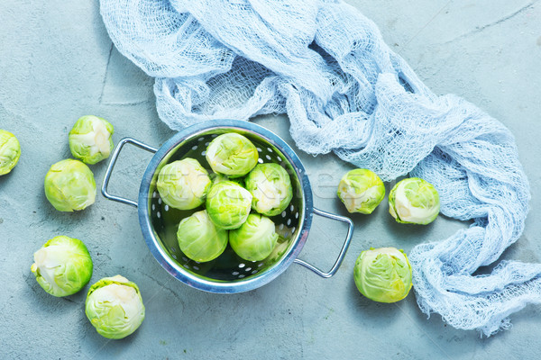 brussel sprouts Stock photo © tycoon