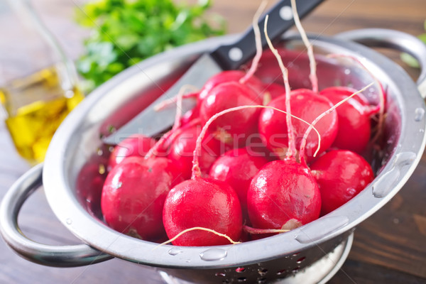 fresh radish Stock photo © tycoon