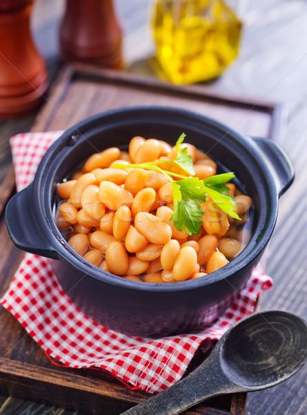 white beans Stock photo © tycoon