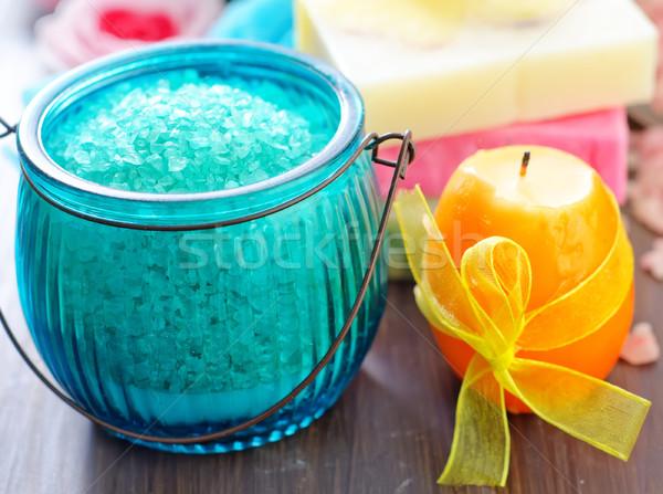 домашний мыло цвета соль воды природы Сток-фото © tycoon