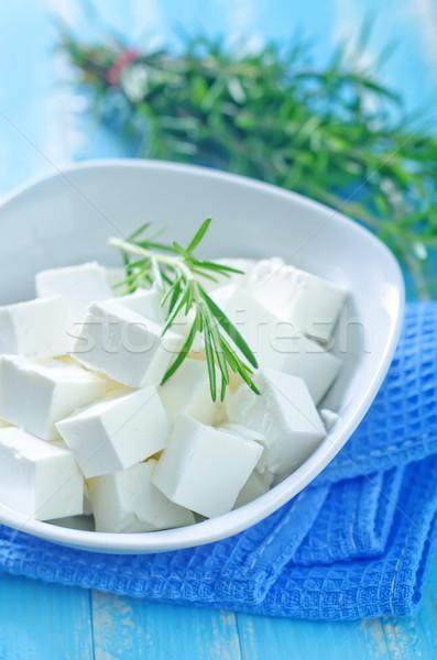 Restauracji zielone mleka jeść obiad Zdjęcia stock © tycoon