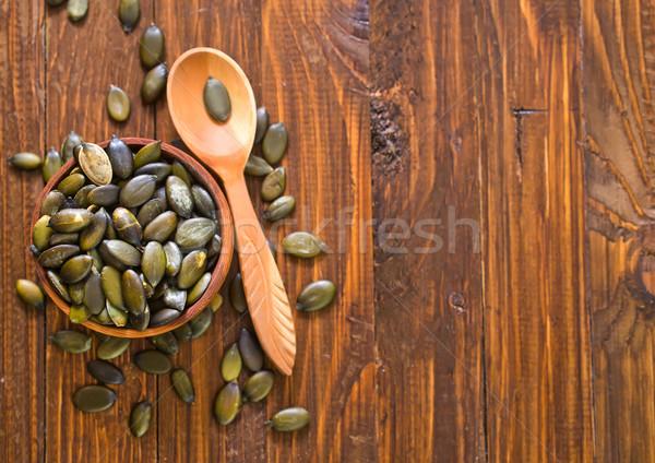 pumpkin seed Stock photo © tycoon