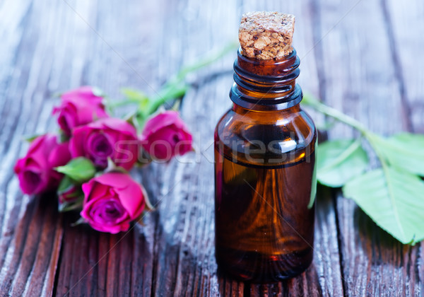rose oil in bottle  Stock photo © tycoon