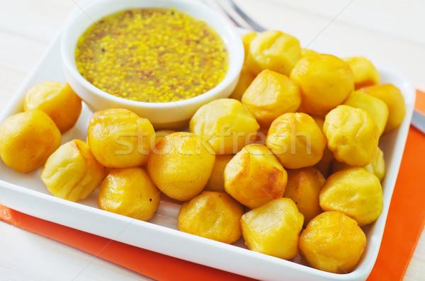 ストックフォト: ジャガイモ · チーズ · ディナー · ホット · ランチ