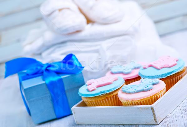 Bayram onur doğum çocuk bebek elbise Stok fotoğraf © tycoon