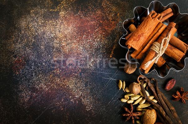 Aroma Spice texture vino inverno Natale Foto d'archivio © tycoon