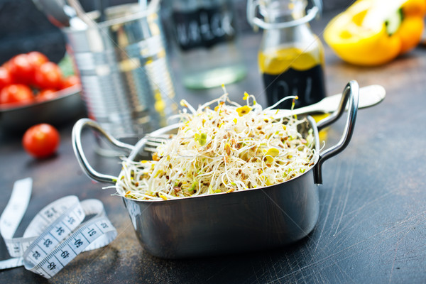 Raw sprouts Stock photo © tycoon