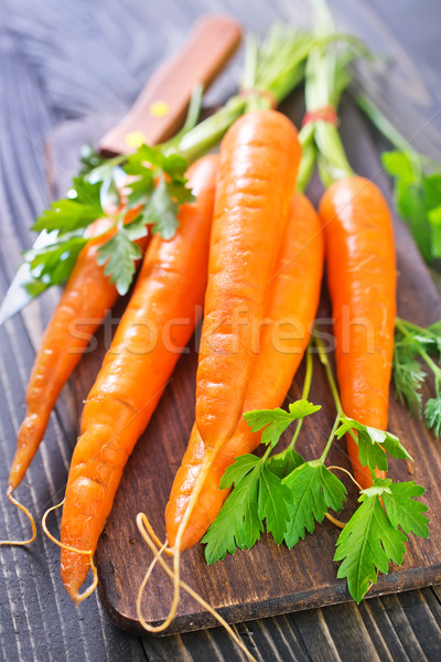 raw carrot Stock photo © tycoon