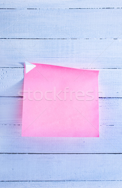 color sheets for note Stock photo © tycoon
